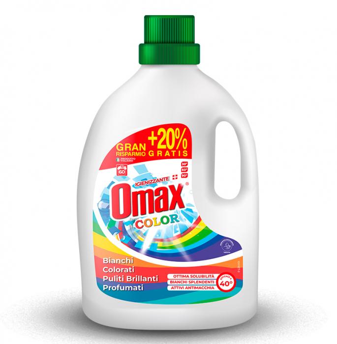 Detergent lichid rufe OMAX Colore 3L - 60 spalari [0]