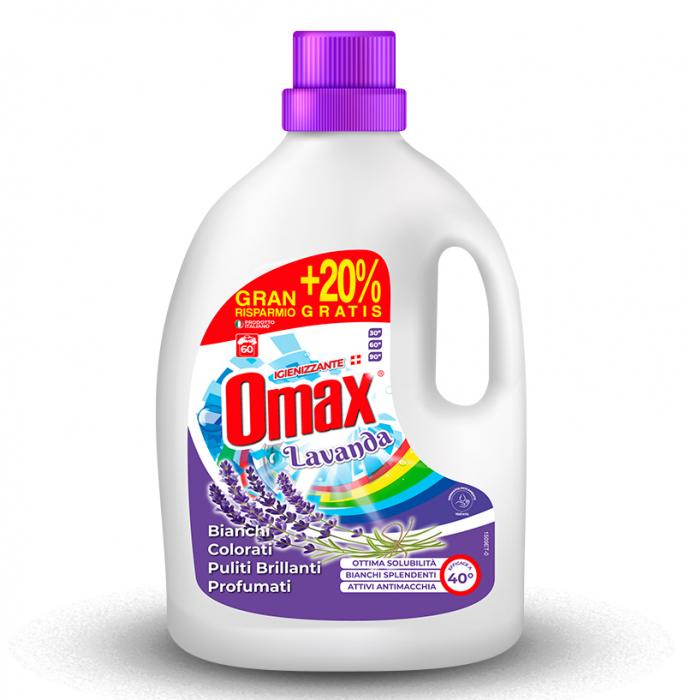 Detergent lichid rufe OMAX Lavanda 3L - 60 spalari [0]