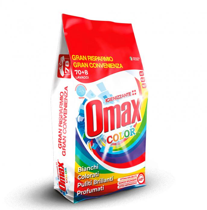 Detergent praf OMAX Colore 4.68 kg - 78 spalari [0]