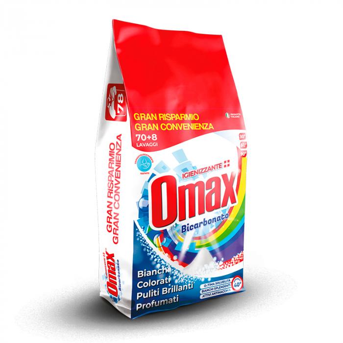 Detergent praf OMAX Bicarbonato 4.68 kg - 78 spalari [0]
