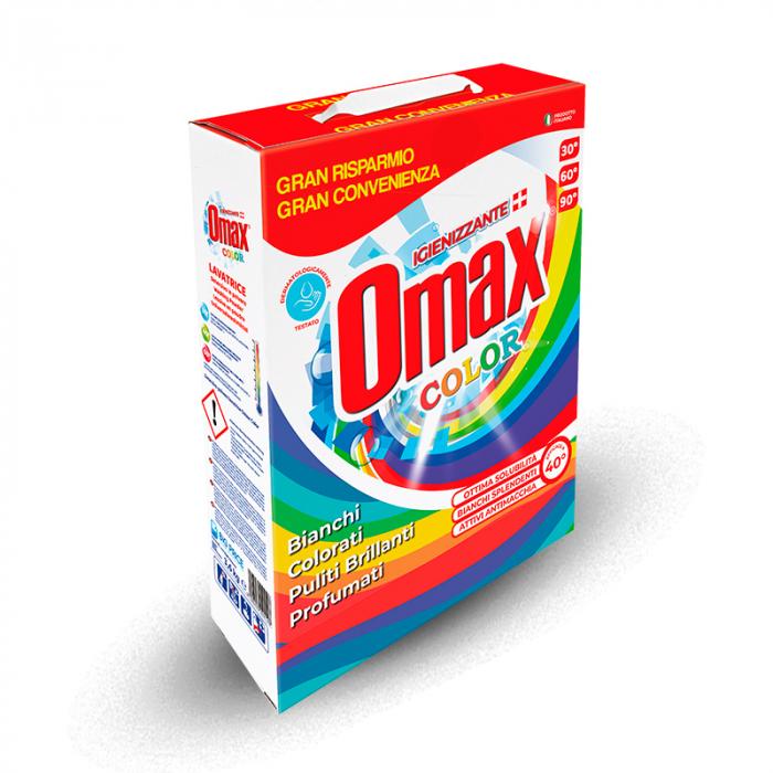 Detergent praf OMAX Colore 6.3 kg - 105 spalari [0]