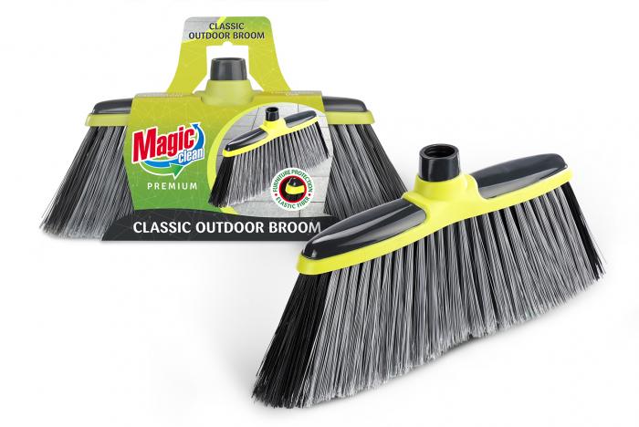 Mătura universală MAGIC CLEAN PREMIUM 11cm cu bară de cauciuc, fară mîner 0