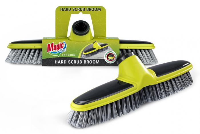 Mătura pentru podea MAGIC CLEAN PREMIUM cu cadru de cauciuc, fară mîner [0]