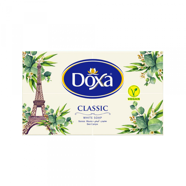Sapun universal pentru rufe DOXA Clasic White 4x150 gr 0