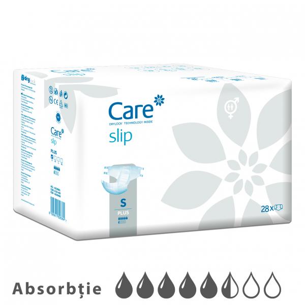Scutece Adulti Care Slip Plus 5.5 Picaturi, S 28 bucati 0
