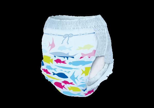 Scutece chilotel pentru apa Magics Pants Air Tubes Marime M(3-4), 7-15kg, 11 bucati 2