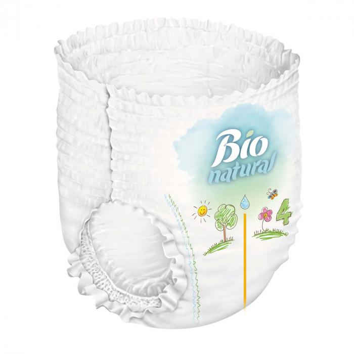 Scutece Chilotel Bio Natural Marime 6 XLarge 15-27kg, 16 bucati [2]