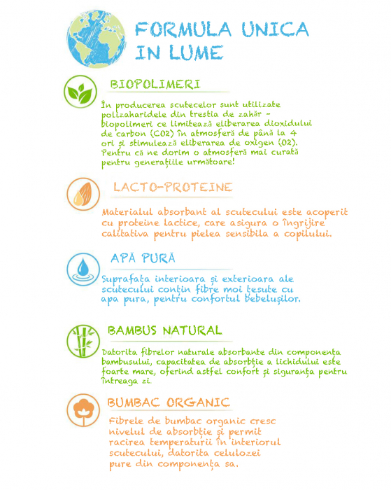 Scutece Chilotel Sleepy Bio Natural Marime 4 Maxi , 7-16kg, 24 bucati 4