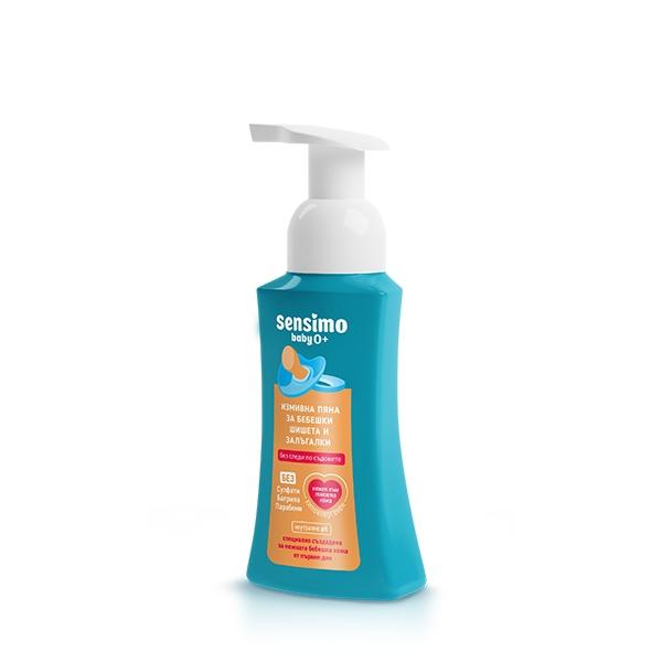 Detergent vase/Spuma Aroma Sensimo Baby 0+ 300ml 0
