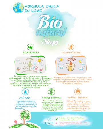 Scutece Chilotel Bio Natural Marime 6 XLarge 15-27kg, 16 bucati [3]