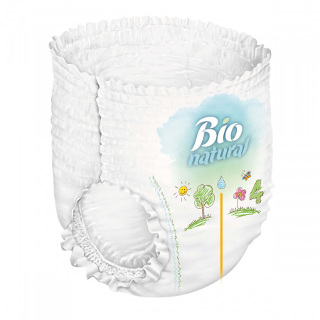 Scutece Chilotel Bio Natural Marime 5 Junior , 11-20kg, 20 bucati [2]