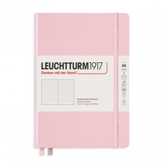 Agenda A5 LEUCHTTURM1917 Roz Pastel, liniatura punctata - Ultimul produs!! 1