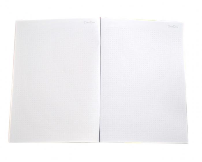 Caiet B5 liniatura punctata tip Bullet Journal, 50 de file 4