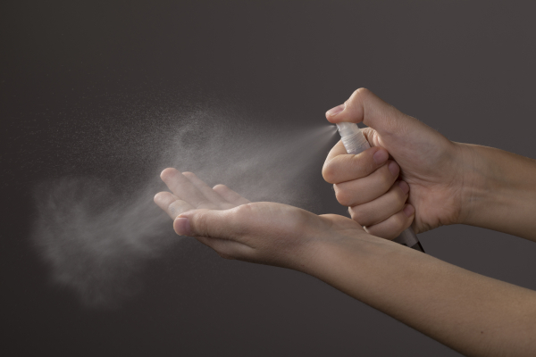 Liner SafePen cu pulverizator dezinfectant [2]