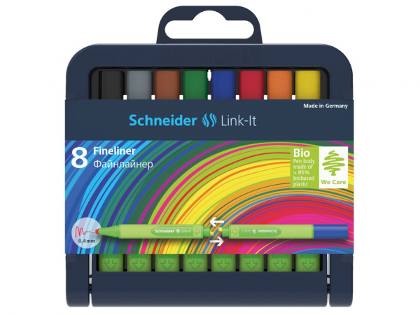 Set Schneider Link-It 0.4 mm cu 8 linere istete care se cupleaza [0]