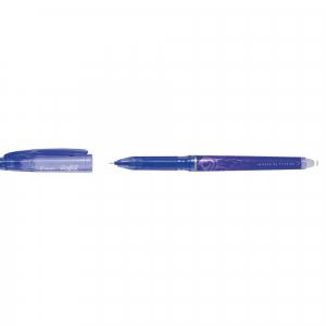 Roller Pilot Frixion Point albastru 0.5mm cu capac0