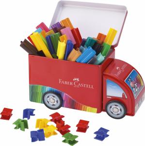 Set Carioca Faber-Castell Camion Connector - 33 culori [0]