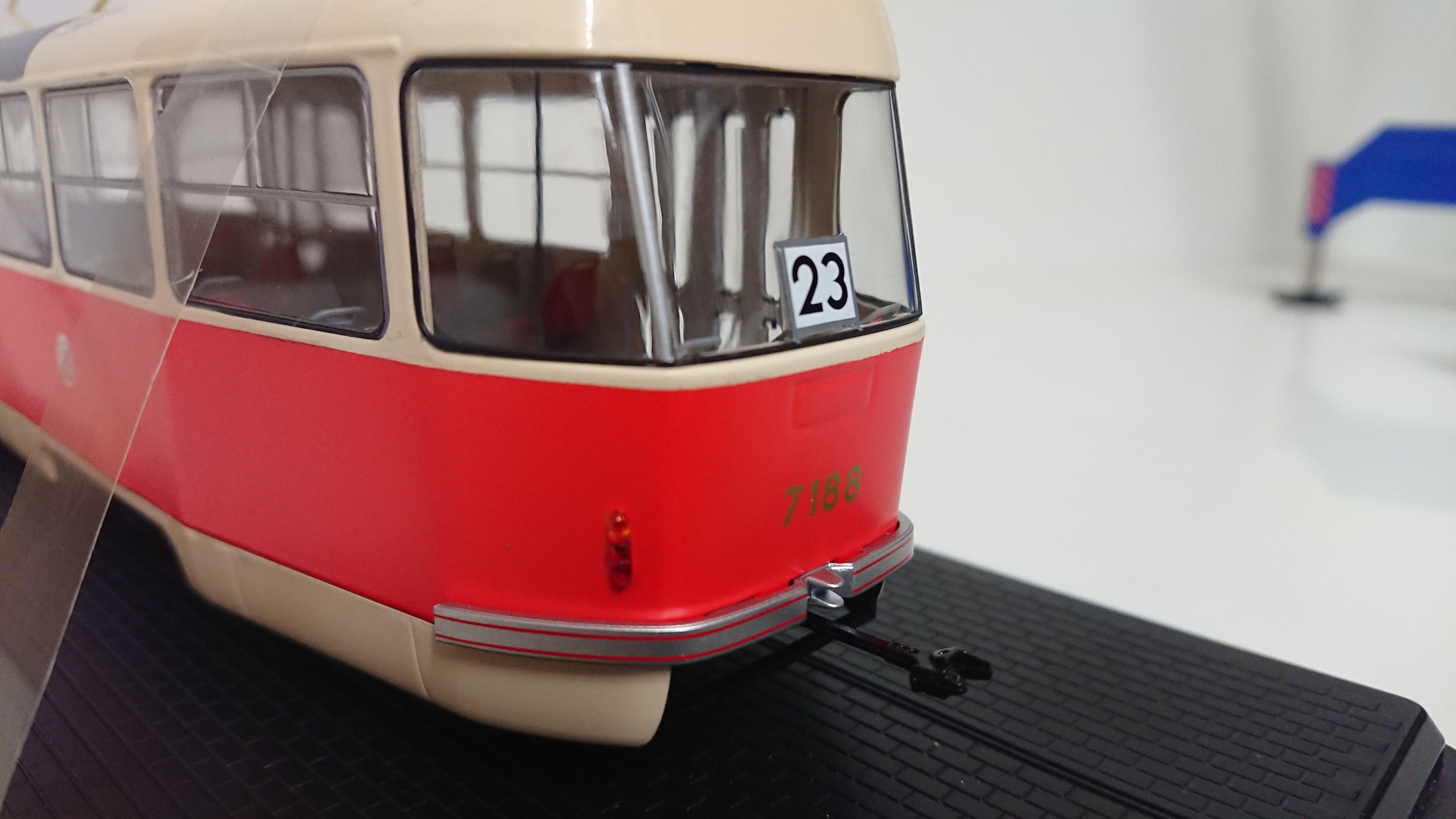 Macheta tramvai Tatra T3, scara 1:432