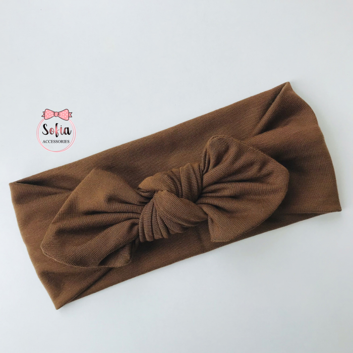 Bamboo Brown Bow [0]