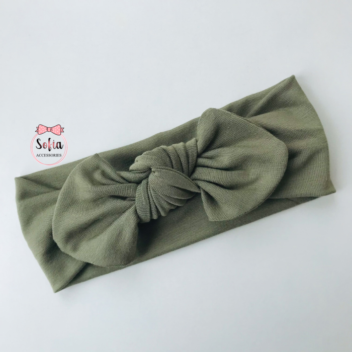 Bamboo Olive Bow [0]