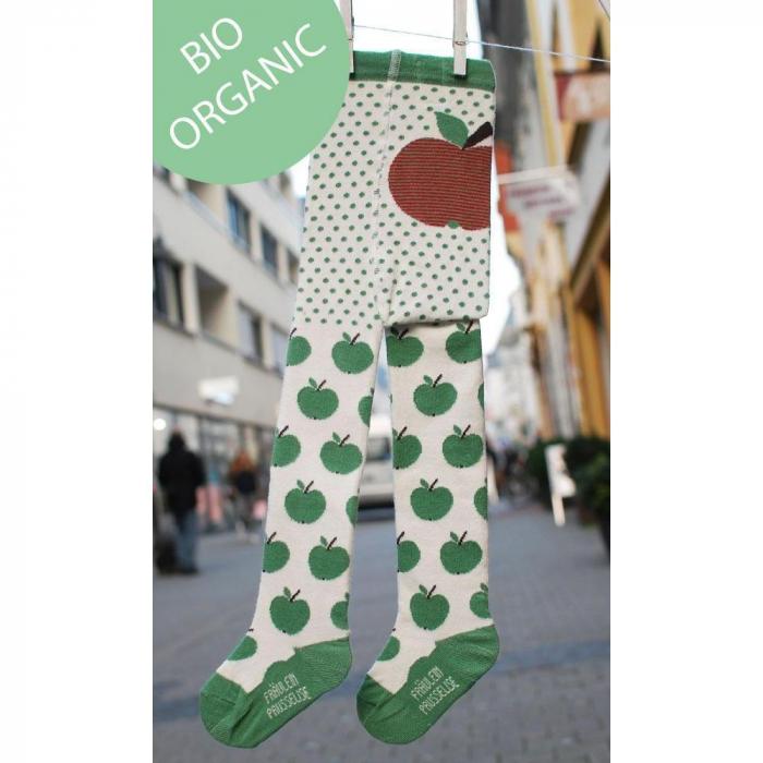 Dresuri din bumbac organic - Green Apple - [0]