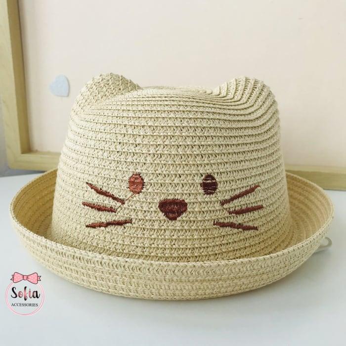 Palarie cu urechi - Lovely Cat - Beige [0]