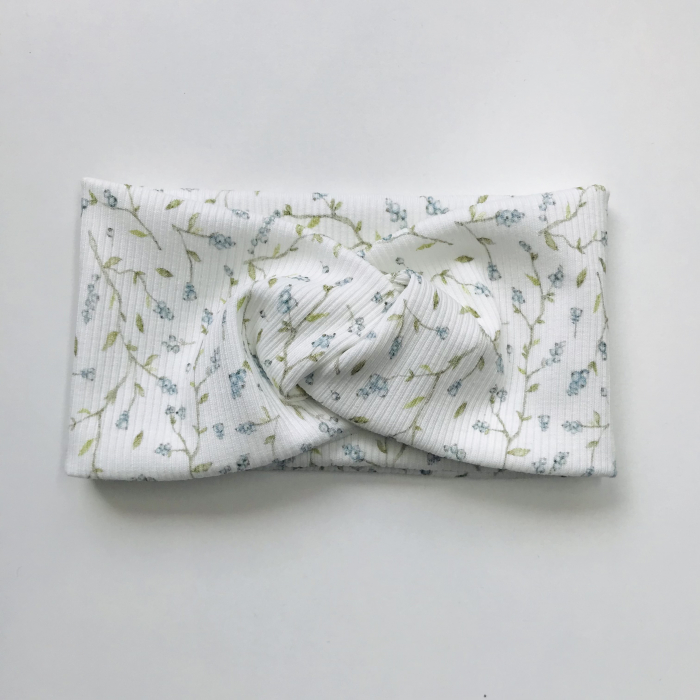 Lily Blue Berries Bow [0]