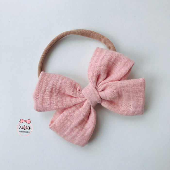 Lina Nude Pink Bow [1]