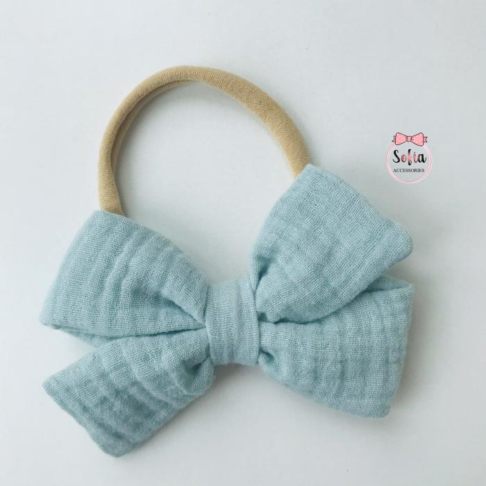 Lina Sea Green Bow [0]