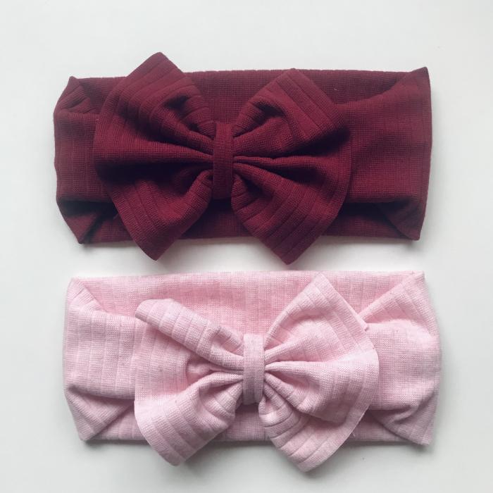 Luna Bordeaux and Pink Bows [0]