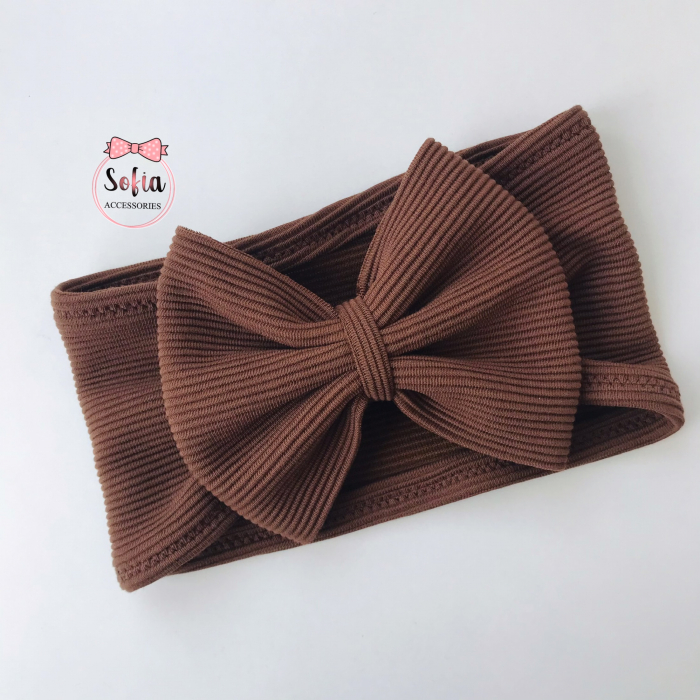 Luna Brown Bow [0]