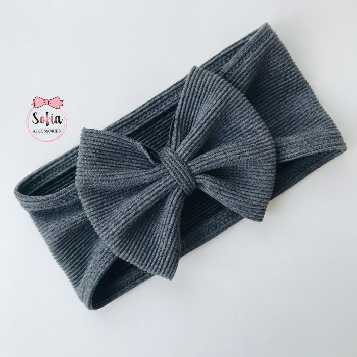 Luna Grey Bow [0]