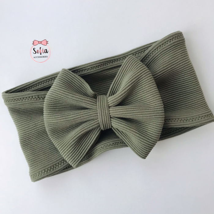 Luna Olive Bow [0]