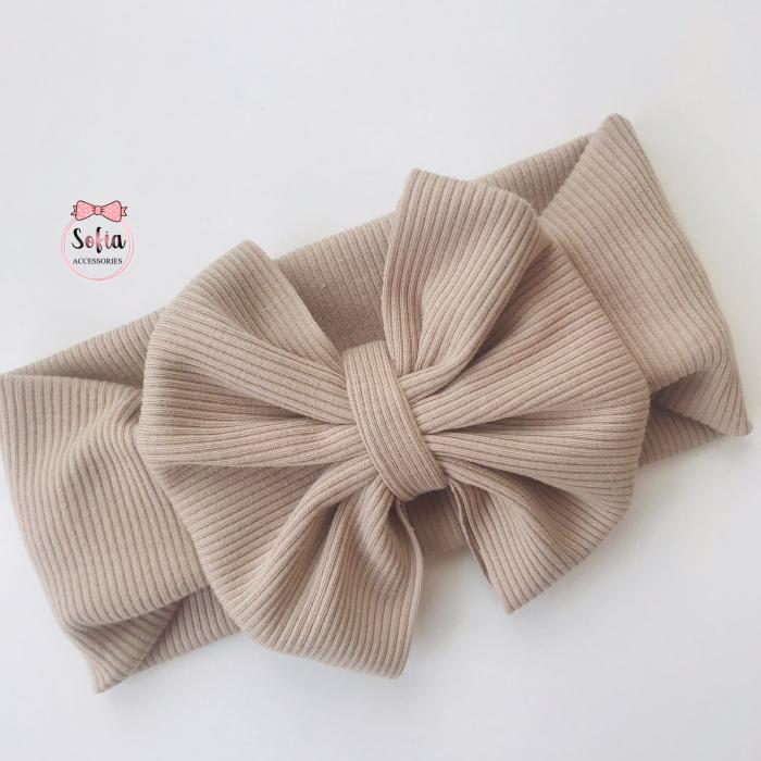 Olivia Natural Beige Bow [0]