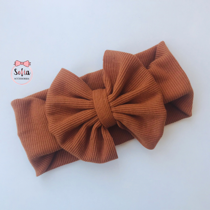 Olivia Brown Bow [0]