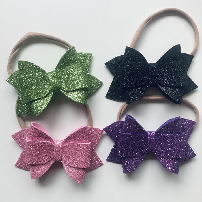 Set 4 Eliza Glitter Bows - V2 [1]