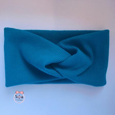 Lily Petrol Blue Bow [1]