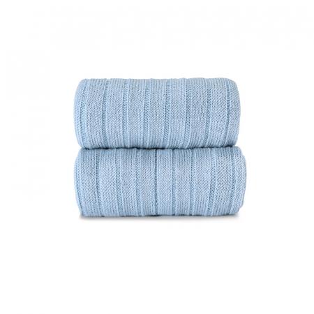 Dresuri din lana merinos - Blue - [1]