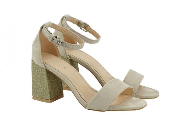 Sandale bej Elenora 1