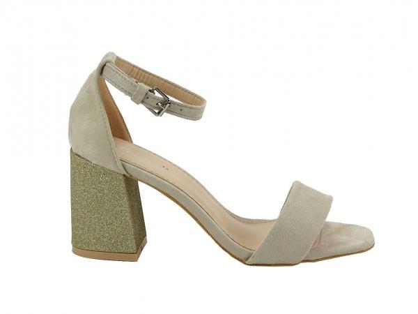 Sandale bej Elenora 0