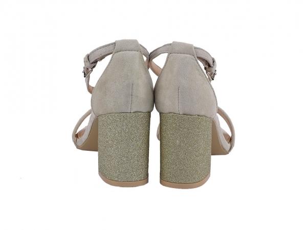 Sandale bej Elenora 2