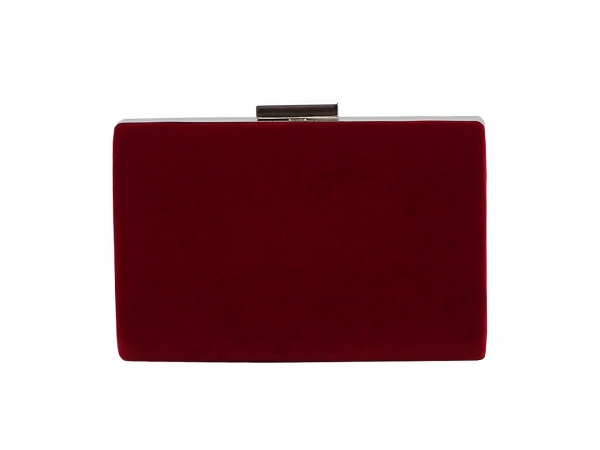 Geanta clutch burdundy Mira 3