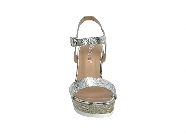 Sandale argintii Fiona 3