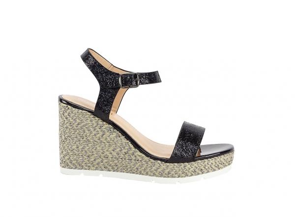 Sandale negre Fiona 0