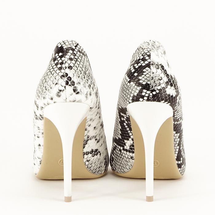 Pantofi eleganti cu imprimeu de sarpe Adele 7