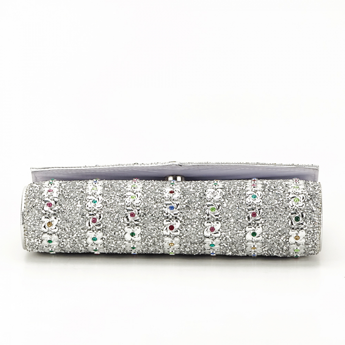Plic argintiu decorat cu pietre Star 4