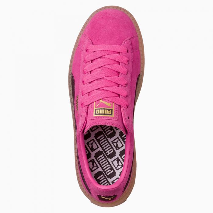 Puma Pantofi sport Casual Femei Puma Platform Trace Block Wn's din piele intoarsa 3