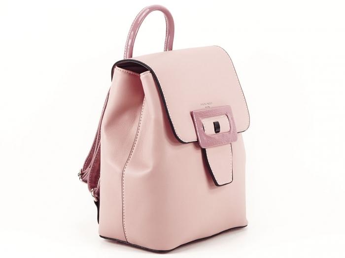Rucsac dama roz de talie medie Avril 1