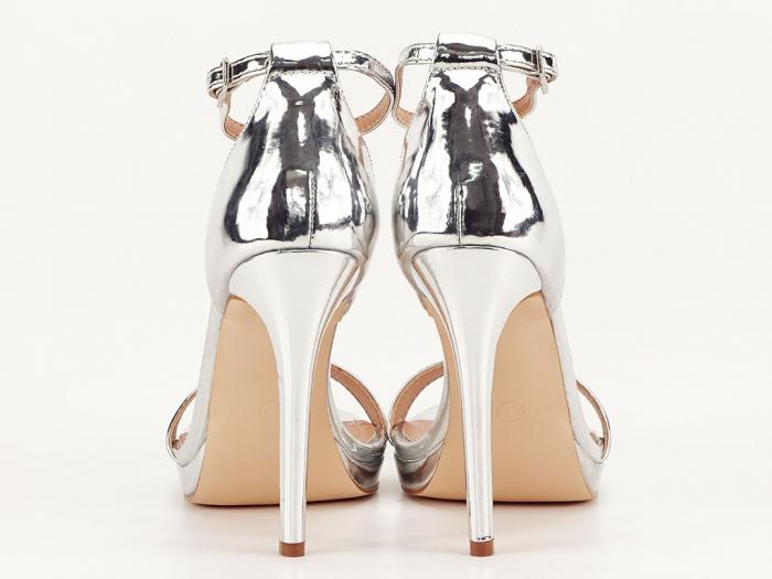 Sandale elegante argintii Dorothy 2 [3]