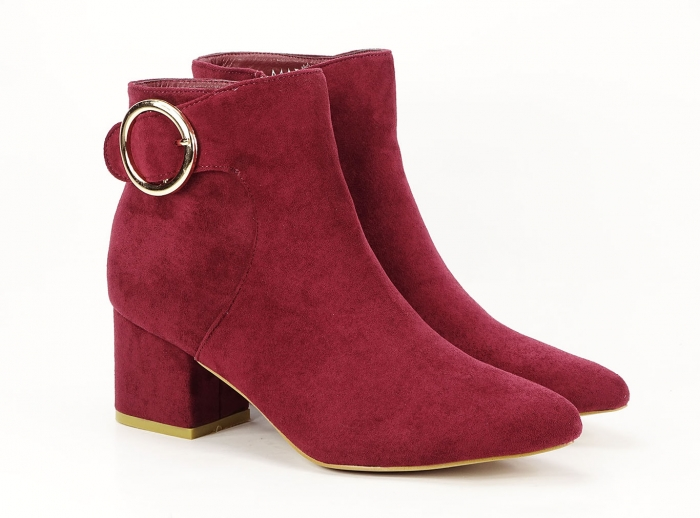 BOTINE BORDO CU TOC MIC JENNIFER 1